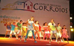 Actuação no palco LIBERDADE nas Festas de Corroios